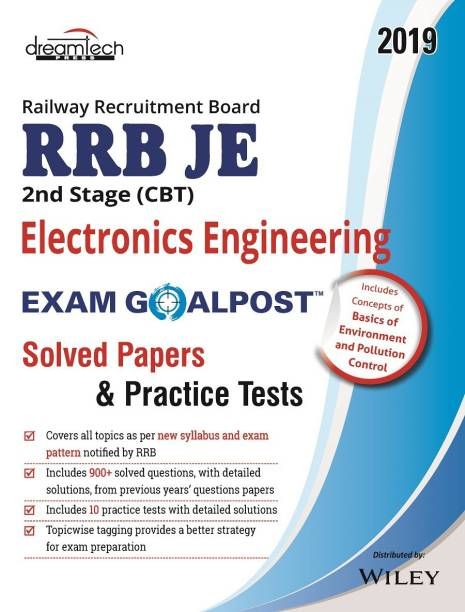 Rrb Je 2nd Stage (CBT) Electronics Engineering Exam Goalpost Solved Papers & Practice Tests - Solved Papers and Practice Tests 2019 1 Edition