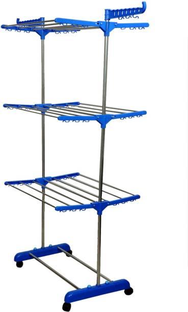 lakshay Steel Floor Cloth Dryer Stand W7765E