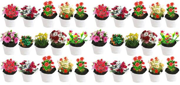 Coirgarden Poly Grow Bags for Gardening Plants- UV STABILIZED LDPE 100% Virgin Grow Bags - [20cms(L) X20cms(W) X35cms(H)] - Pack of 30 Grow Bags Grow Bag