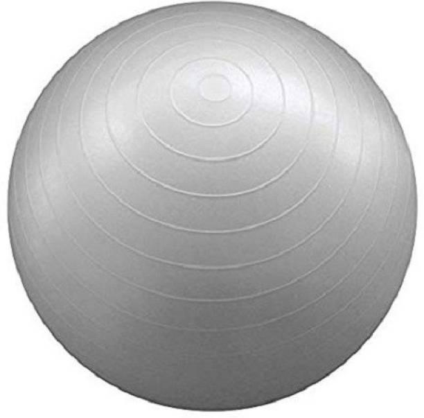 Jern Anti-Burst Fitness Exercise Stability Yoga Ball/Gym Ball - Silver, 75CM Gym Ball