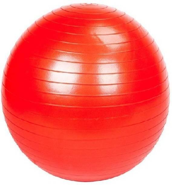 Jern Anti-Burst Fitness Exercise Stability Yoga Ball/Gym Ball (Orange, 65 cm) Gym Ball