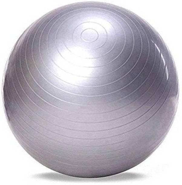 Jern Anti-Burst Fitness Exercise Stability Yoga Ball/Gym Ball (Silver, 85 cm) Gym Ball