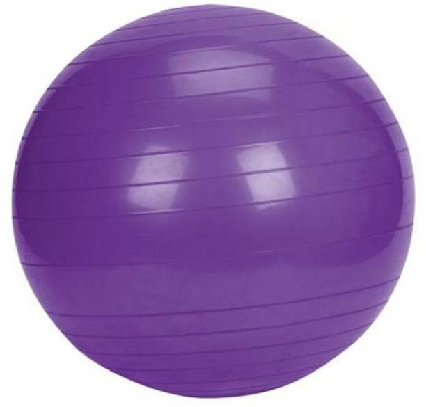 Jern Anti-Burst Fitness Exercise Stability Yoga Ball/Gym Ball (Purple, 65 cm) Gym Ball