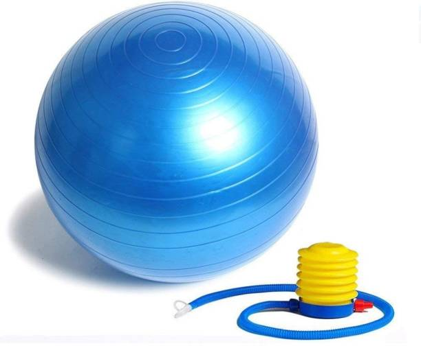 Jern Anti-Burst Fitness Exercise Stability Yoga Ball/Gym Ball (Blue, 65 cm) Gym Ball