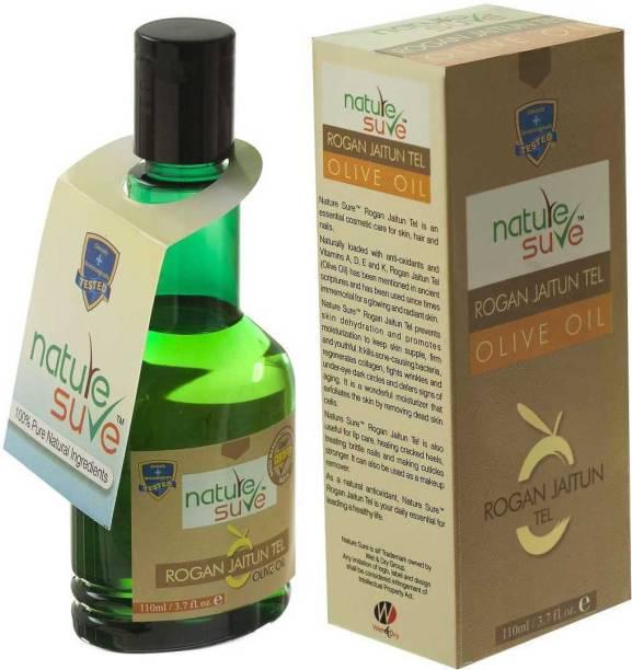 Nature Sure Rogan Jaitun Oil ( Olive Oil)110 ML Hair Oil