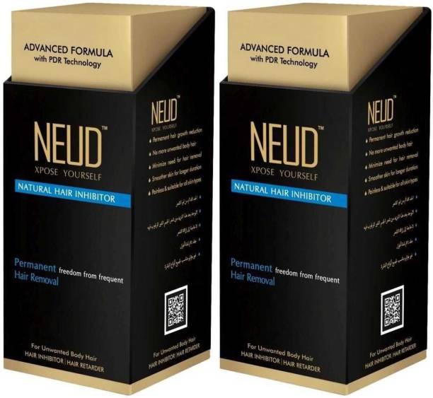 NEUD Natural Hair Inhibitor Permanent Hair Removal Cream Cream