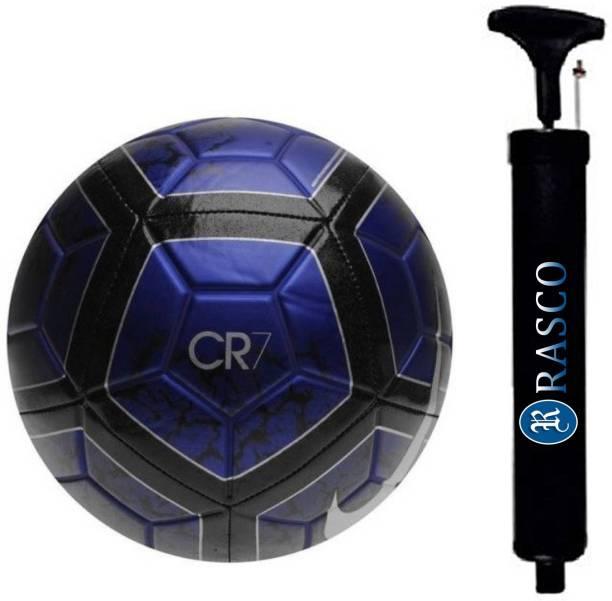 RASCO COMBO BLUE FOOTBALL WITH AIR PUMP Football - Size: 5