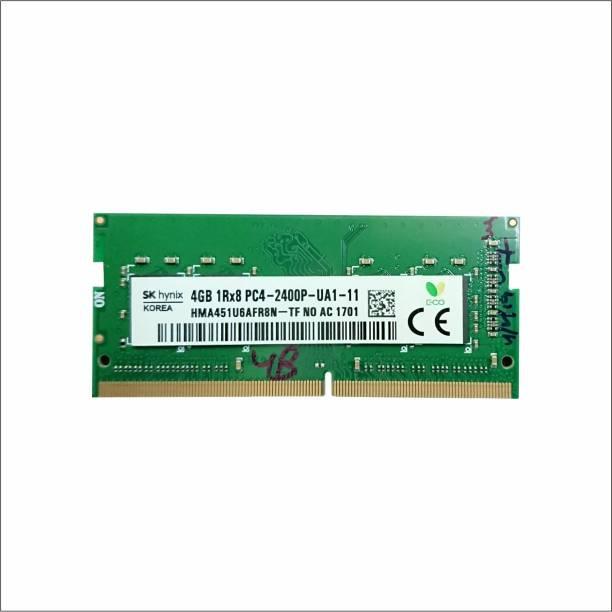 Hynix P SERIES DDR4 4 GB (Dual Channel) Laptop SDRAM (HMA451U6AFR8N)