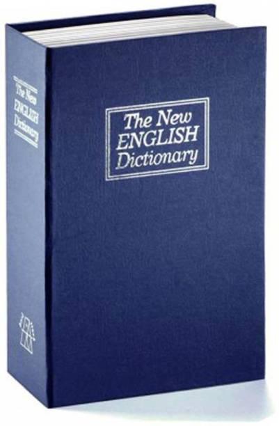 Vivir Dictionary Book Iron Locker Safe Locker