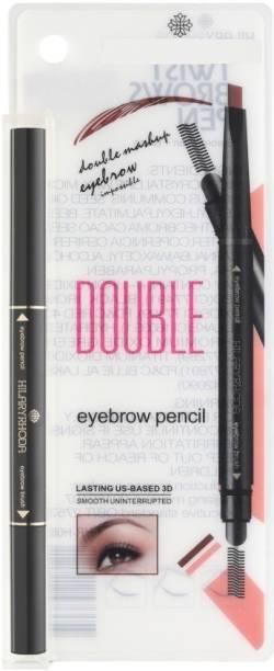 Hilary Rhoda Eyebrow Pencil with eyebrow Brush - Deep Black