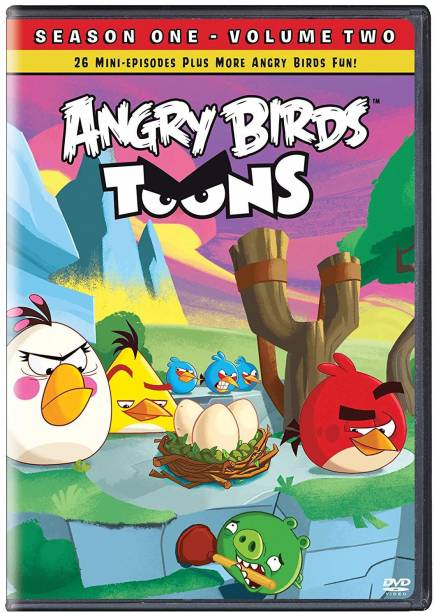 Angry Birds Toons: The Complete Season 1 - Volume Two (Region 3   HK Import)