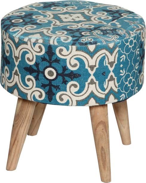 Tanishkam Decor Solid Wood Standard Ottoman