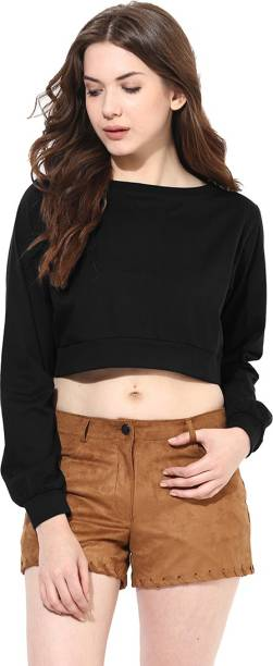 75e2c22a0d7de Crop Tops - Buy Crop Tops Online at Best Prices In India