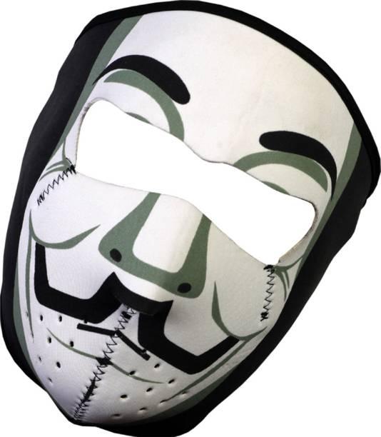 TUHI Multicolor Bike Face Mask for Boys