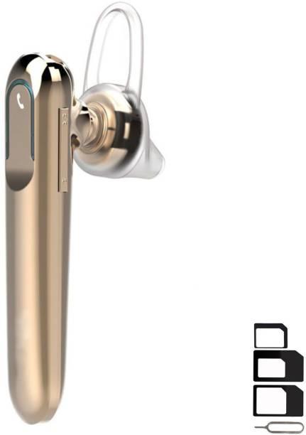GoSale Headset Accessory Combo for Vivo V3, Sony Xperia XA Ultra Dual, Samsung Galaxy S7 Edge, Lenovo Vibe K5, Moto E3 Power, Panasonic P75, Samsung Galaxy J5 Prime, Moto G4 Plus, Oppo F1, Samsung Galaxy J5 2016, Samsung Galaxy On5 Pro, Oppo Neo 7, Vivo Y21, Xiaomi Mi Max Prime, HTC Desire 10 Pro, Samsung Galaxy J2 (2015), Vivo Y55S, Oppo Neo 5 Dual, Vivo Y21L, Samsung Galaxy A8 Wireless Bluetooth In-Ear Headphones Headset Hands-Free Earbuds Earphone With Mic