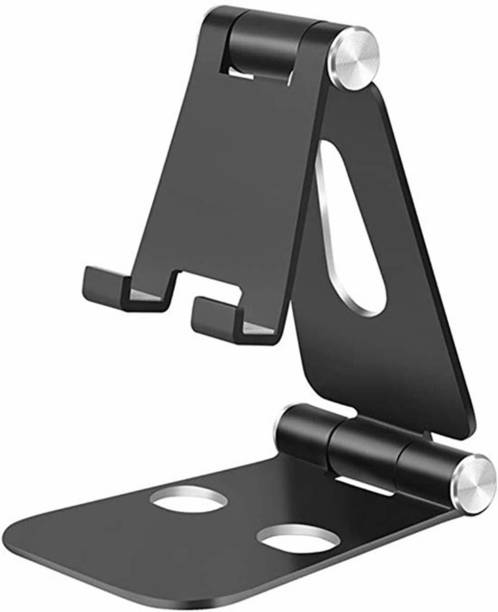 STRIFF Anodized Aluminum Adjustable Foldable Stand for All Smartphones and tablet Mobile Holder
