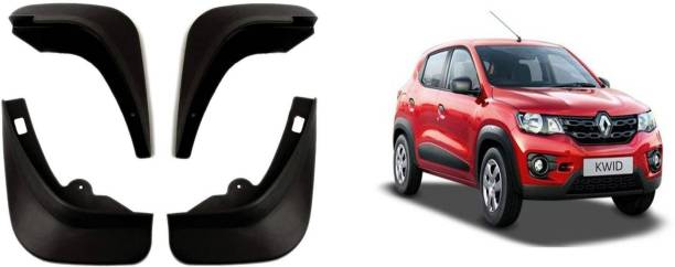 Auto Spare World Front Mud Guard, Rear Mud Guard For Renault Kwid 2015