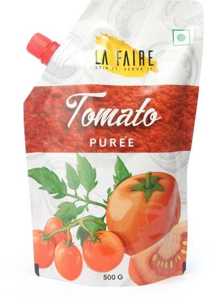 La Faire Tomato Puree, 500 Grams