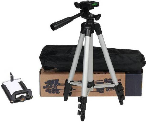 Belphegor ripod 3110A 3-Way Head, Built in Level, Aluminium Legs, Quick Lever Lock Mini Tripod for phone and camera | Foldable Tripod Stand for Mobile Camera, DSLR, Smartphone & Action Cameras Tripod Kit