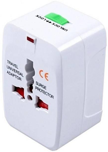 Mopslik Universal Travel Worldwide Adapter - No USB (Pack of 1) … Worldwide Adaptor