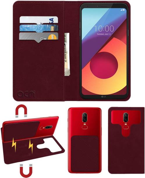 ACM Flip Cover for Lg Q6 Plus