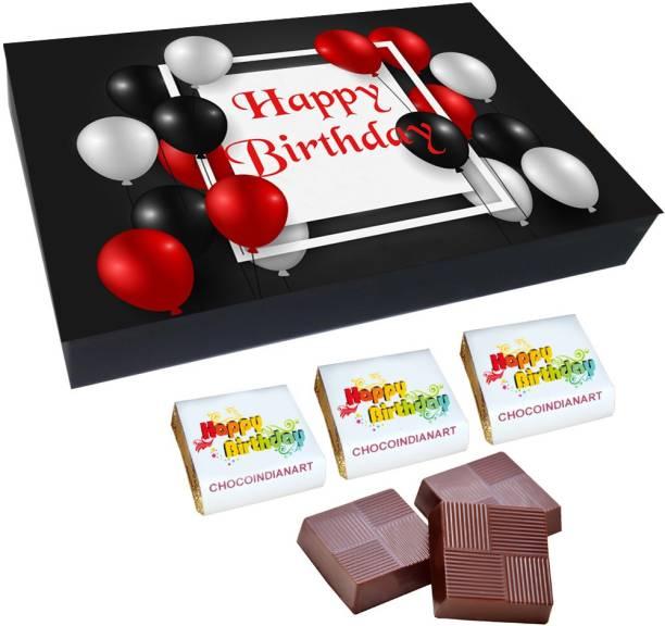 CHOCOINDIANART New idea happy birthday, 12 Delicious Chocolate Gift Box, Truffles