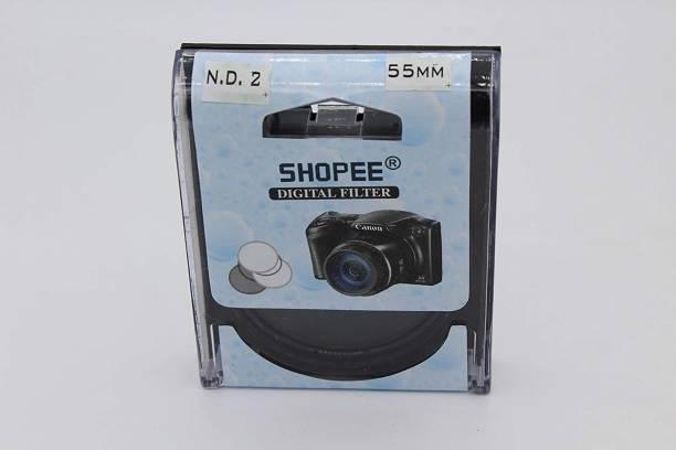 SHOPEE 55mm ND2 Neutral Density Filter Black & White Filter
