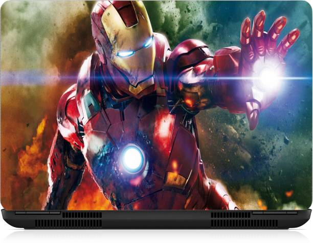 Gallery 83 ® iron man Exclusive High Quality Laptop Decal, laptop skin sticker 15.6 inch (15 x 10) Inch G83_skin_2320new Vinyl Laptop Decal 15.6