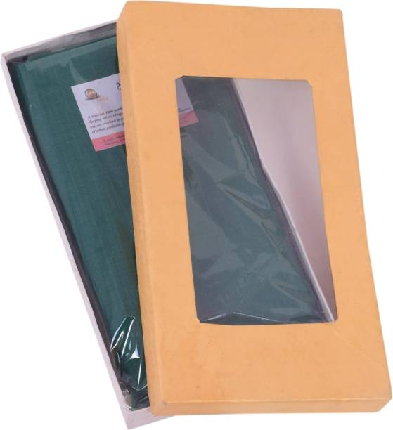 EthnicAlive Solid Green Lungi