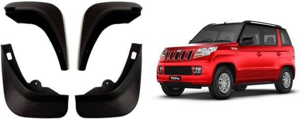 Auto Spare World Front Mud Guard, Rear Mud Guard For Mahindra TUV-300 2015