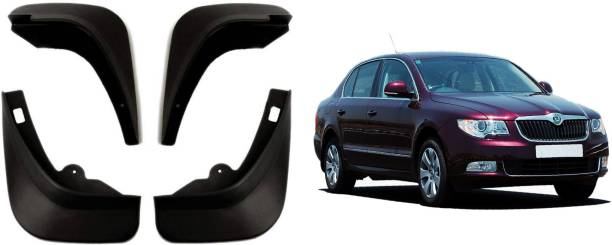 Auto Spare World Front Mud Guard, Rear Mud Guard For Skoda Superb 2012