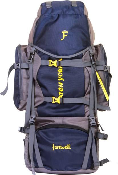 5b617e6ce7 farewell OUTDOOR BACK PACK FOR TREKKING TRAVEL HIKING SPORTING RUCKSACK  Rucksack - 65 L