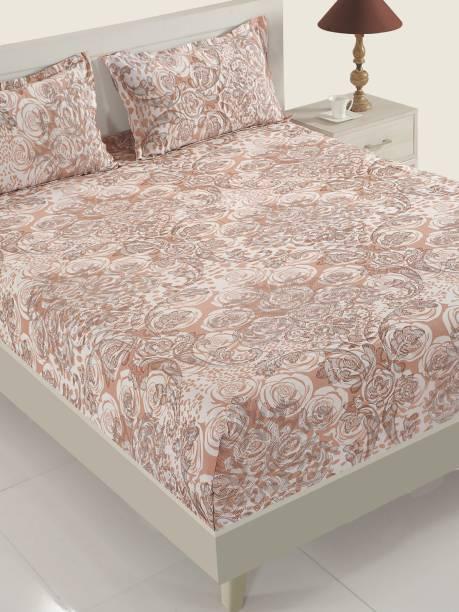 SWAYAM 160 TC Cotton Single Motifs Bedsheet