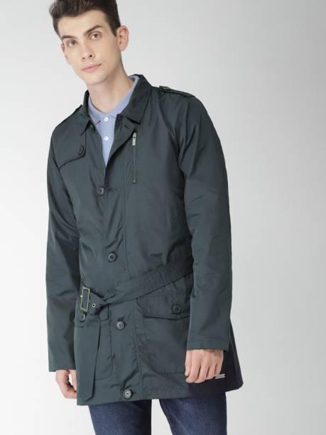 MAST & HARBOUR Full Sleeve Solid Men Jacket