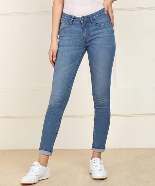 7a234b9b8b48 Lee Skinny Women Light Blue Jeans