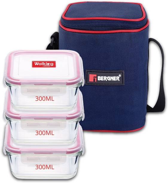 Bergner Irene 3 Containers Lunch Box