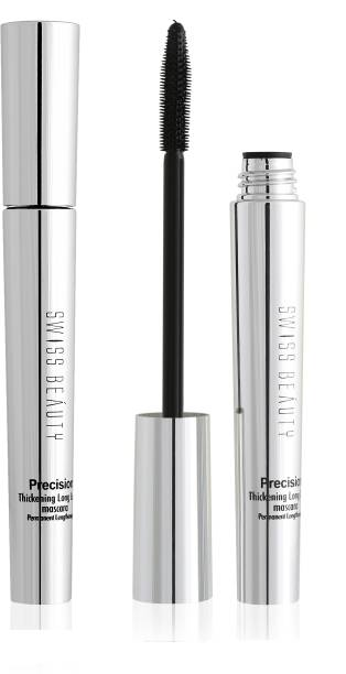 SWISS BEAUTY Precision Thickening Long Lash Deep Black Mascara 10 ml