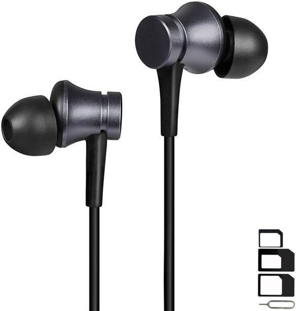 ShopsNice Headphone Accessory Combo for Videocon Infinium Z45 Dazzle, Graphite V45DB, Z55 Dash, Octa Core Z55 Delite, Z45 Amaze, Infinium Z51 Punch, Infinium Z52 Inspire, Z30 Pace, Infinium Z30 Aire, Infinium Z40 Quad, Infinium Z51 Nova Plus, Thunder Plus 2 V50DC, A48 Earphones Original Like Headsets In-Ear Headphone Hands-free With Mic, 3.5mm Jack