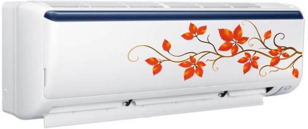 Pixel Print Medium Air Conditioner Split AC Flower Sticker