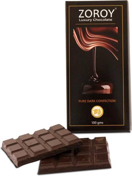 Zoroy Luxury Chocolate Compound Pure Dark chocolate confection bar Bars