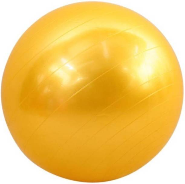04368561c31816 WDS Fitness Exercise Multi-use Indoor Fitness Training Yoga Yellow Gym  Ball(with pump