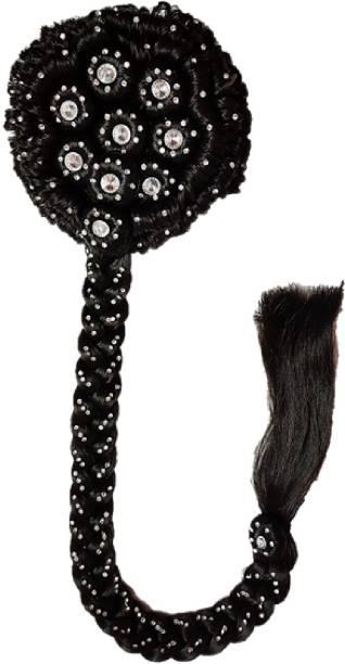Gayatri Designer Hair Juda Choti Bun (Dark Brown) GBM1206-1BR Bun