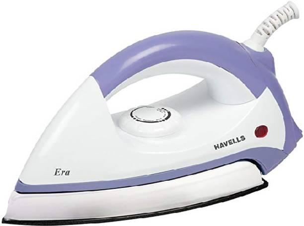 HAVELLS Era 1000-Watt Dry Iron (Grey/White) 1000 W Dry Iron