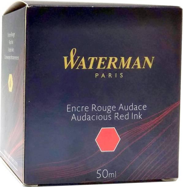 Waterman red Ink Bottle