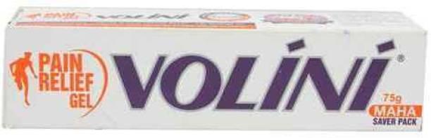 Volini Pain Releif Gel 75gm * 2 (Pack of 2) Gel