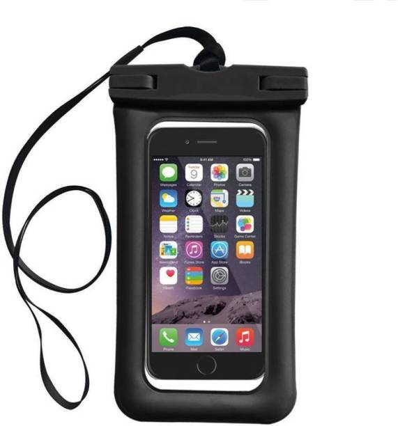 AMJ Pouch for UNIVERSAL Waterproof mobile for all Cell Phone dimensions upto 160x80 mm for All Mobile Phones