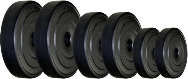 KRX PVC 20KG-RW-COMBO Black Weight Plate