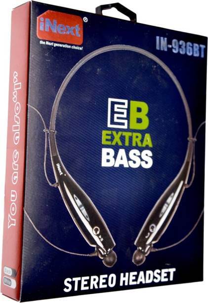 Inext Extra Bass IN-936BT Wired Bluetooth Headset