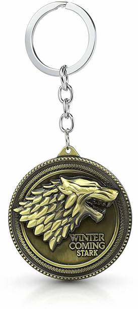 shoppers stoppers Game Of Thrones Stark House Key Chain