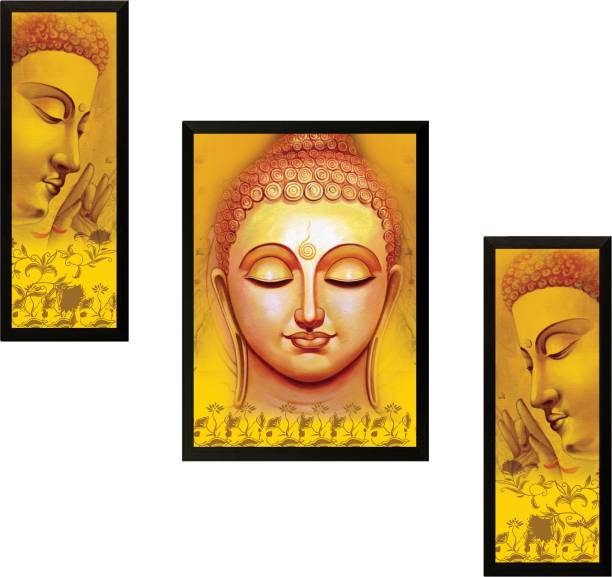 49d19a0d475 SAF Buddha Ink 13.5 inch x 22 inch Painting